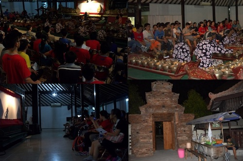 Kunjungan SMA Kristen IPEKA Puri Indah Jakarta  di Pagelaran Wayang Museum Sonobudoyo