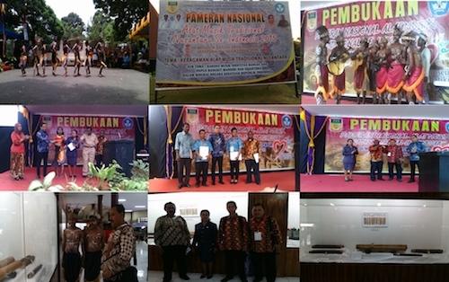 Pembukaan Pameran Nasional Keragaman Alat Musik Tradisional Nusantara 2015