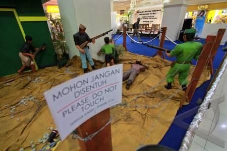 Following Sonobudoyo Joint Exhibition Museums in Sulawesi Tengah (palu)