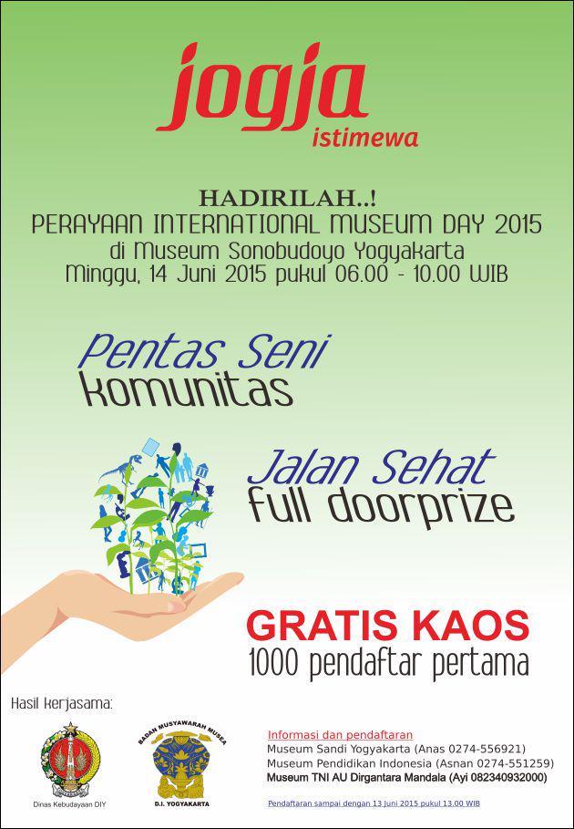 Perayaan  International Museum Day (IMD) 2015