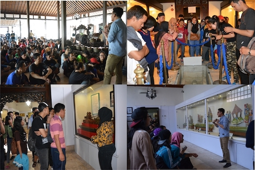 Kunjungan Prodi Manajemen Universitas Sanata Dharma Yogyakarta Ke Museum Sonobudoyo