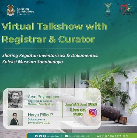 Virtual Talkshow with Registrar & Curator