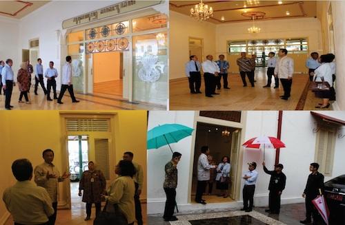 Kunjungan Gubernur DIY di Museum Sonobudoyo
