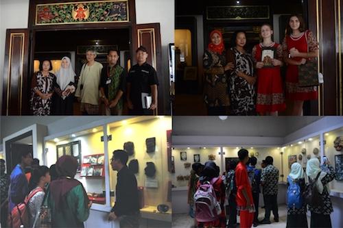 Kunjungan East-West Collaboration Project di Museum Sonobudoyo