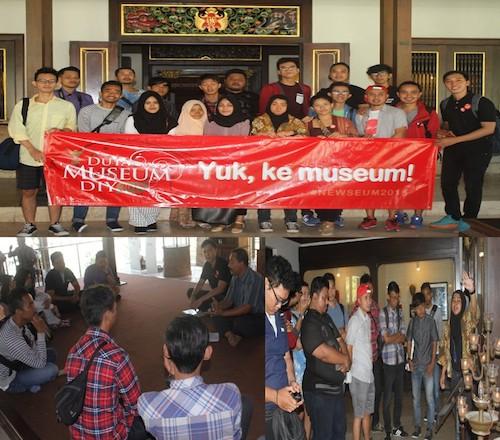 Kunjungan Calon Duta Museum DIY 2015 Di Museum Negeri Sonobudoyo