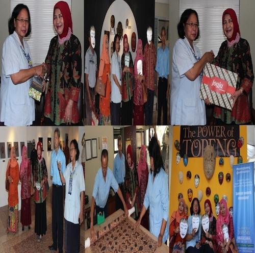 Kunjungan Museum La Galigo Provinsi Sulawesi Selatan  di Museum Sonobudoyo
