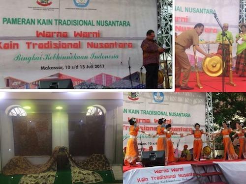 Pameran Kain Tradisional Nusantara 2017