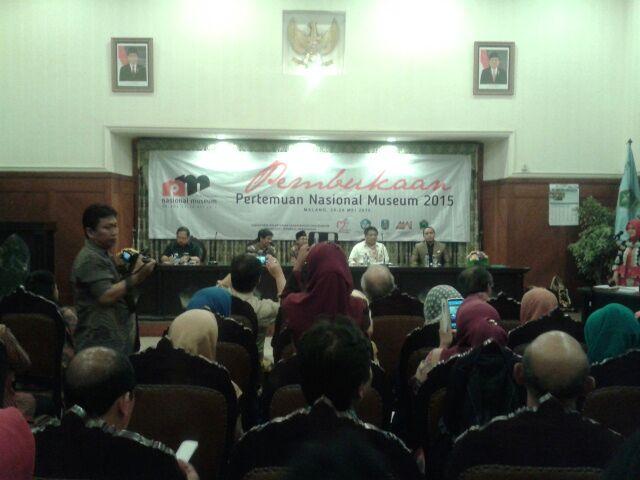 Pembukaan Pertemuan Nasional Museum se-Indonesia 2015