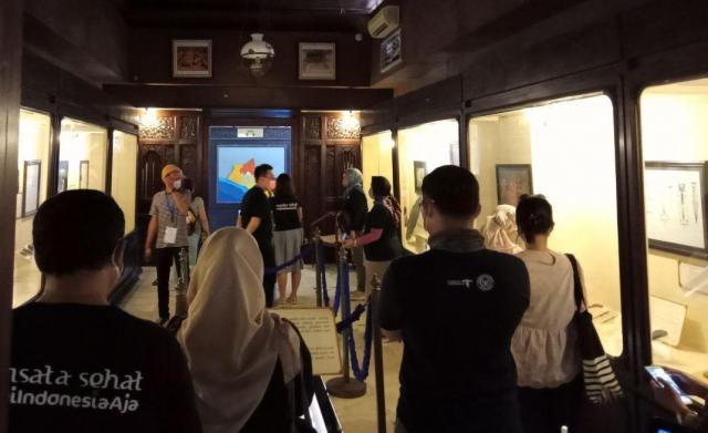 Kunjungan Tim Kementerian Pariwisata di Museum Sonobudoyo