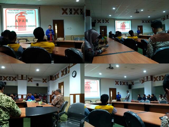 Training Tentang Kebakaran bagi Pegawai dan Karyawan di Museum Sonobudoyo