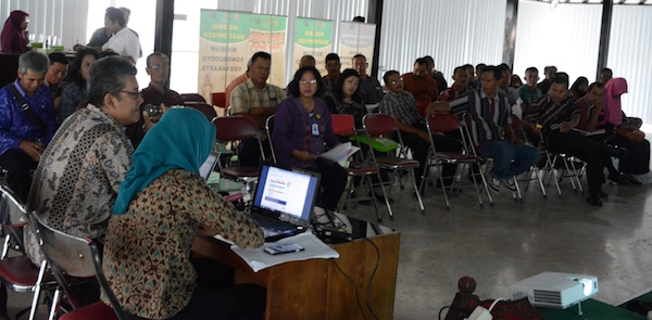 Pendampingan Pengisian E-PUPNS dari Badan Kepegawaian Daerah DIY