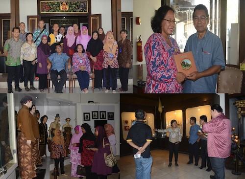Kunjungan Persatuan Sahabat Muzium Melaka Malaysia di Museum Sonobudoyo