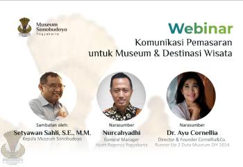 Webinar: Komunikasi Pemasaran Untuk Museum Dan Destinasi Wisata